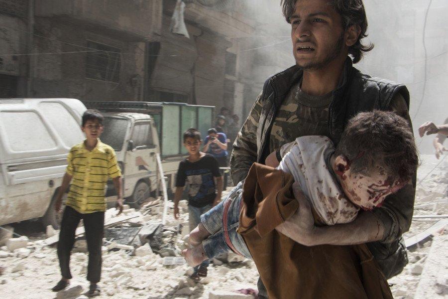 AFP Photo by KARAM AL-MASRI