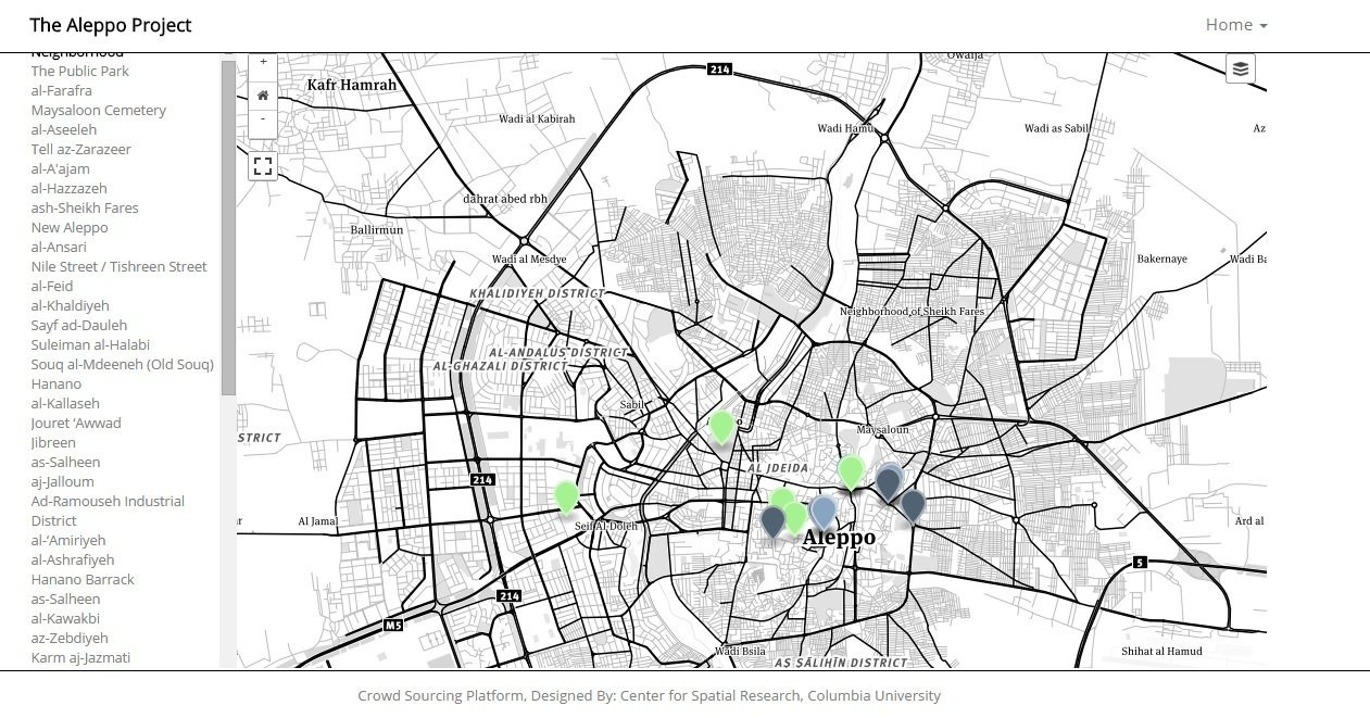 Maps The Aleppo Project - How do maps help us