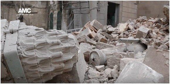 Photo courtesy of the Aleppo Media Center.