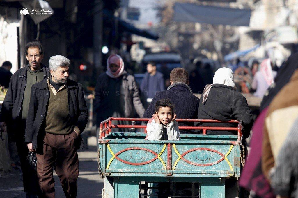 Photo: Mohamad Zein/ Halab News Network.