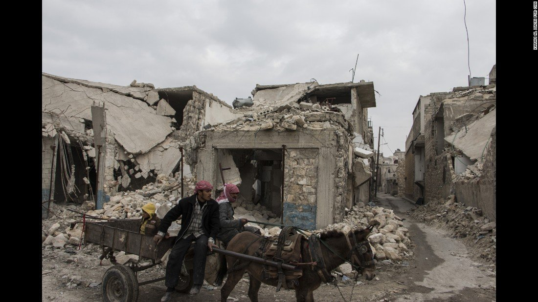 Al-Marja District, eastern Aleppo. Photo: Karam al-Masri, CNN