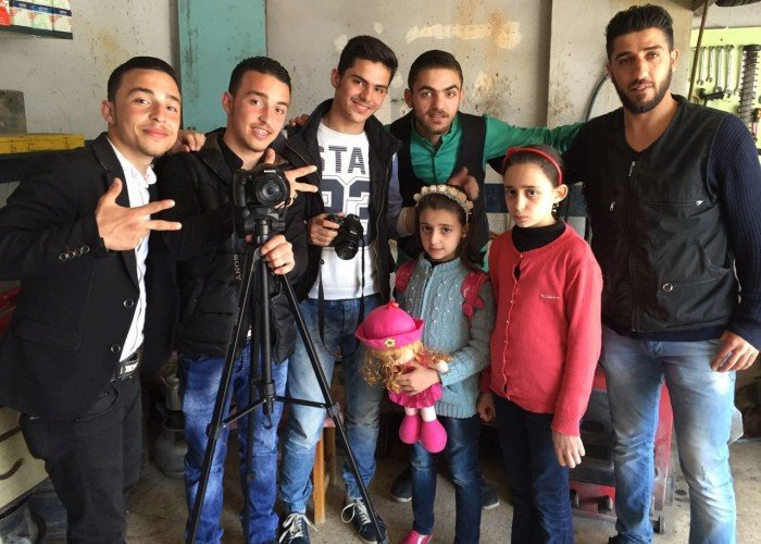 """The Zoom Group."" Photo: Ahmad Saflo. Aleppo Project."