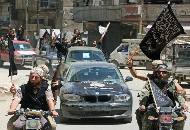 An Nusra fighters. Aleppo. May 2015. AFP. Aleppo Project.