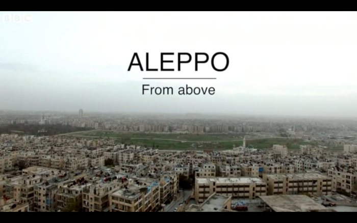 Aleppo From Above. BBC. Mohamed Madi/TheAleppoProject