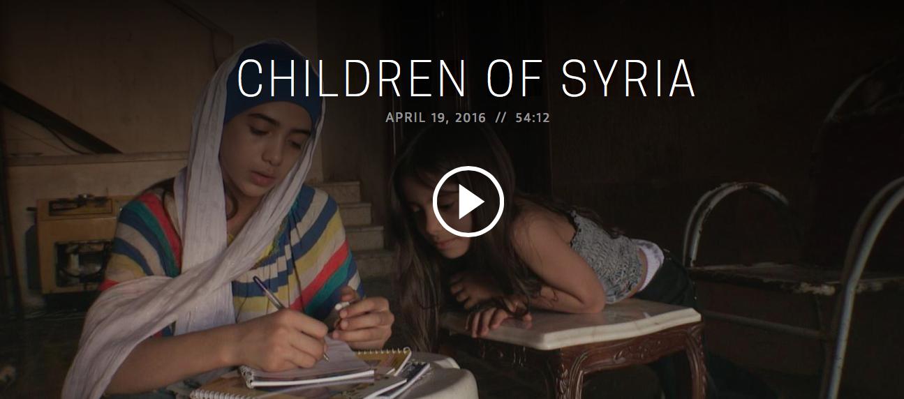 Children of Syria. Frontline.