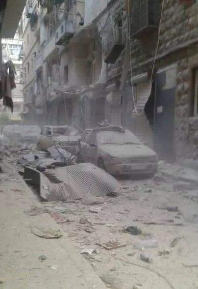 Western Aleppo. April 2016. Photo:Unknown.