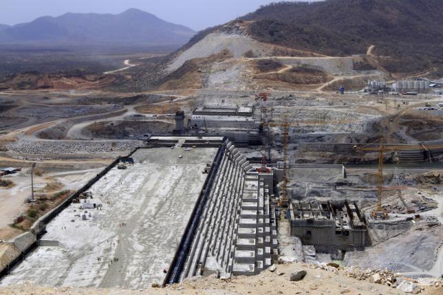 Ethiopia's Grand Renaissance Dam. REUTERS/Tiksa Negeri/Files.
