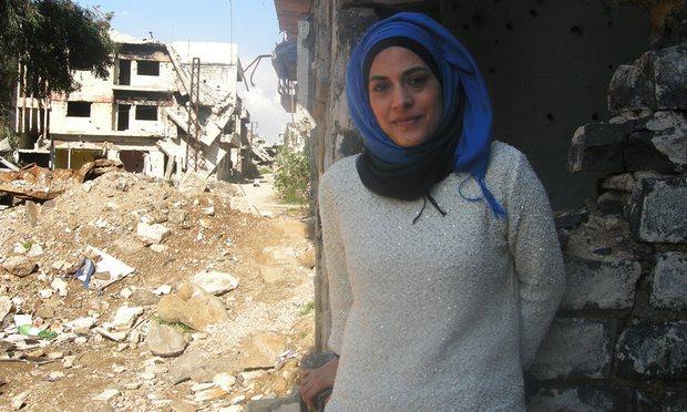 Dr. Marwa al-Sabouni. April 2016. Photo: Ghassan Janisz. Aleppo Project.
