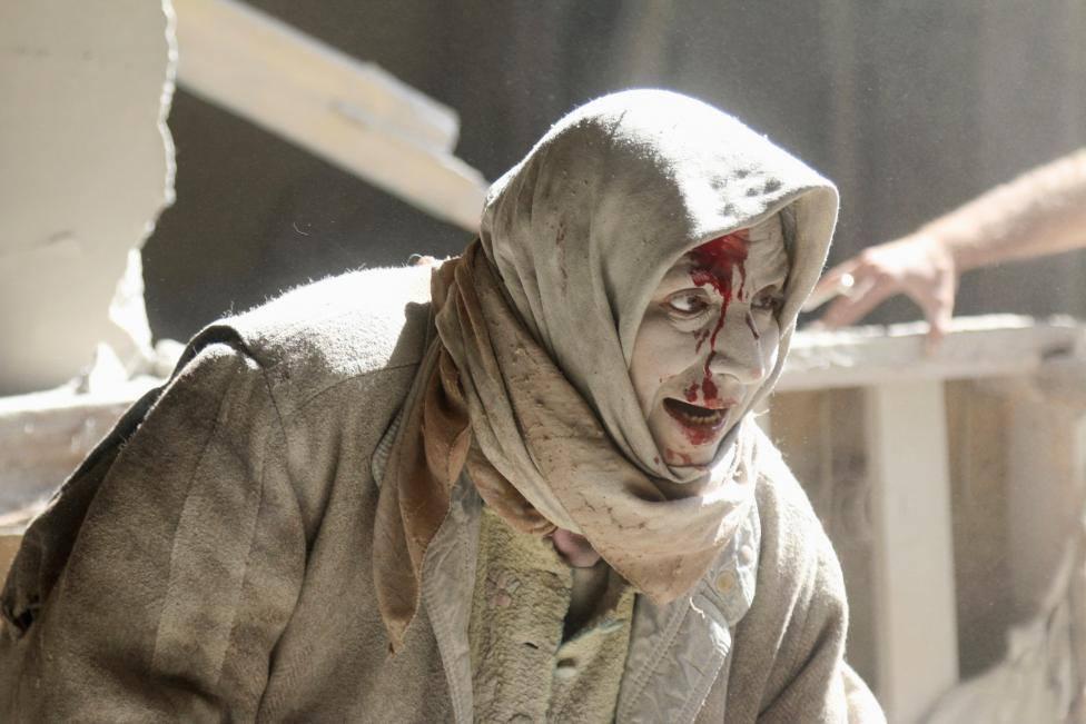Eastern Aleppo. Photo by Abdulrahman Ismail