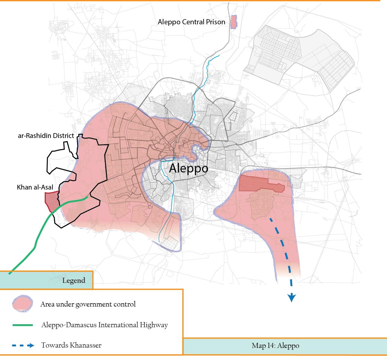Al-Rashidin + Khan al-Assal - Aleppo siege