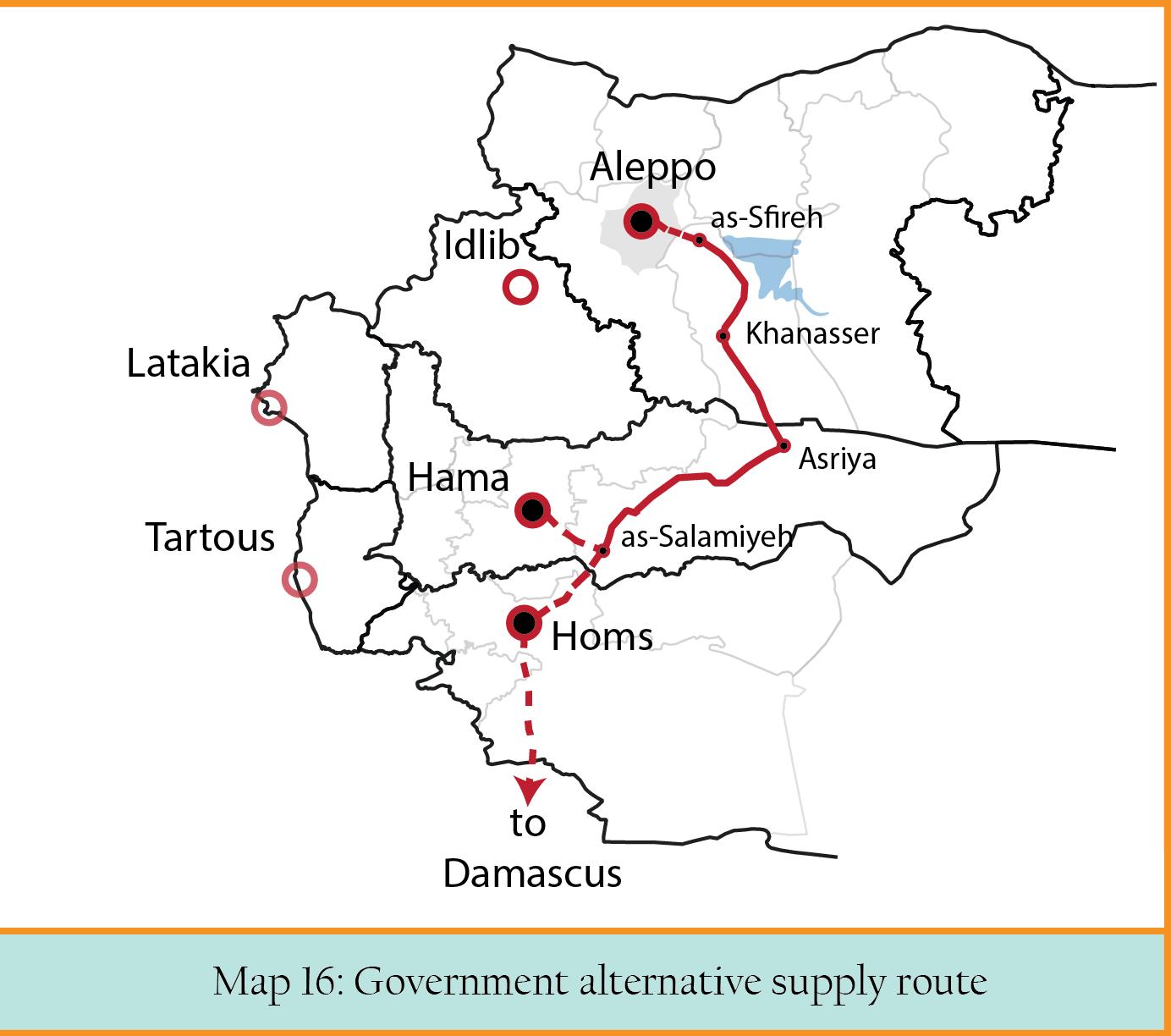 MAP 16 Safire- Khanaser- Hama