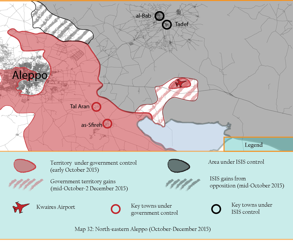 MAP 31 North-east aleppo october-november