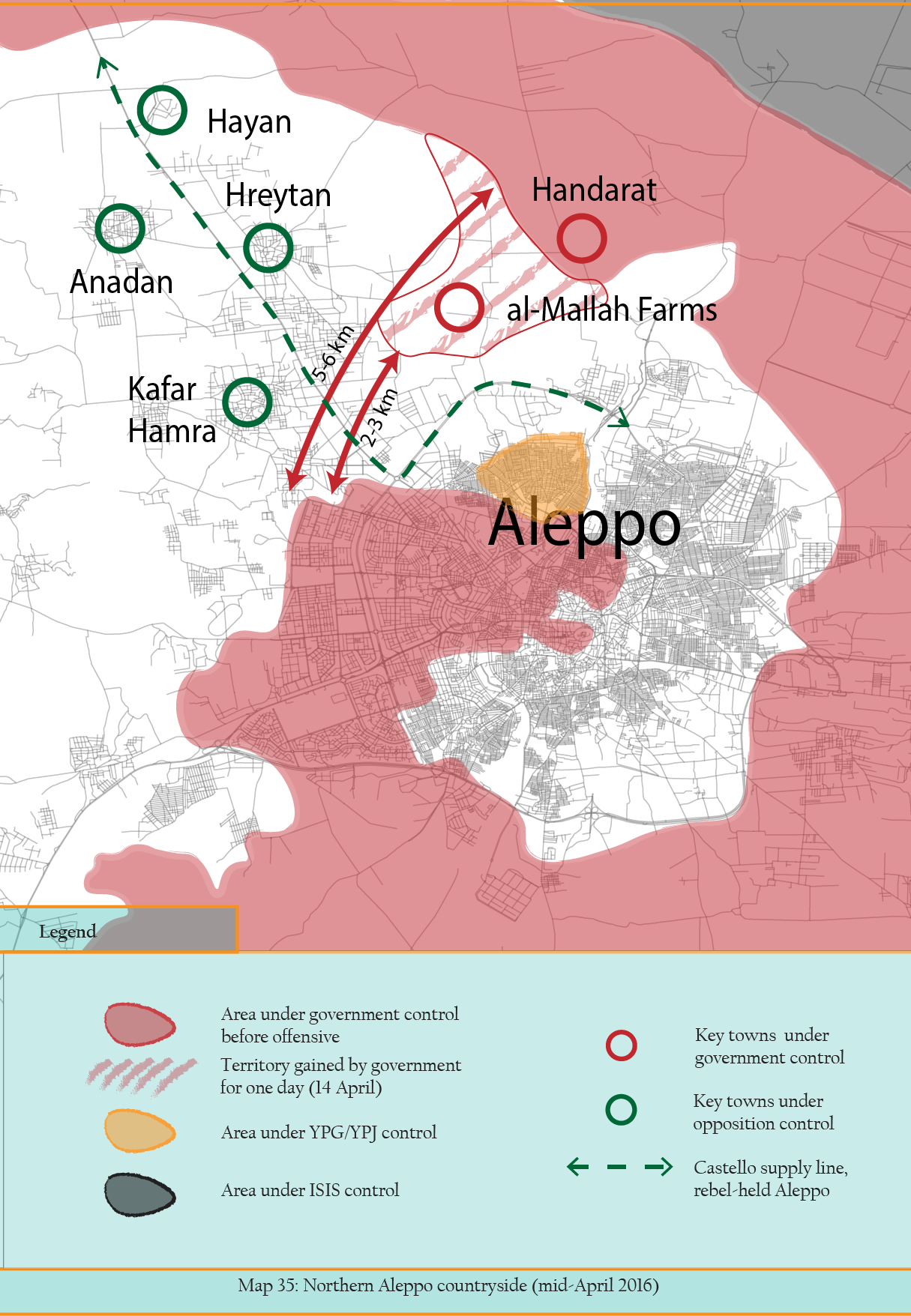 MAP 35 Aleppo mid-April