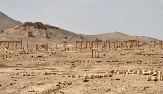 Palmyra. REUTERS/SANA