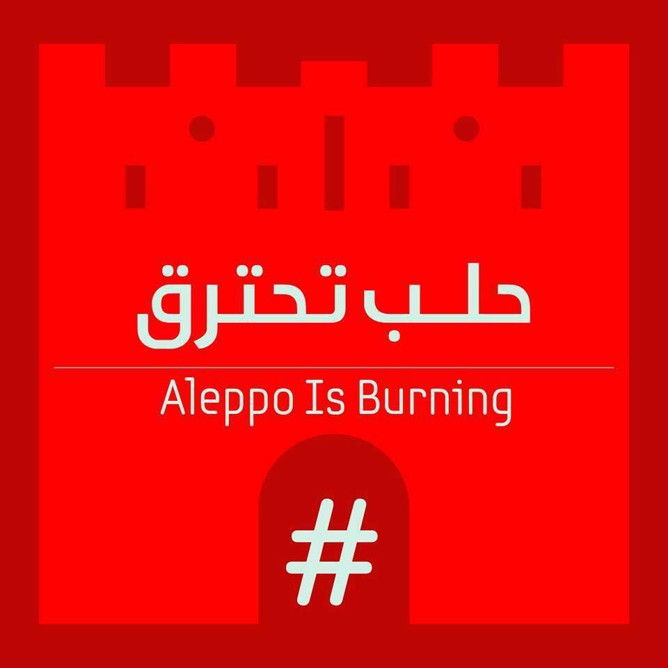 #AleppoIsBurning