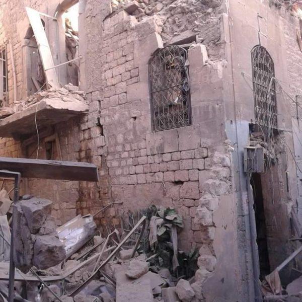Mullah Khaneh Mosque. Bab al-Faraj, Aleppo. 29 April 2016.