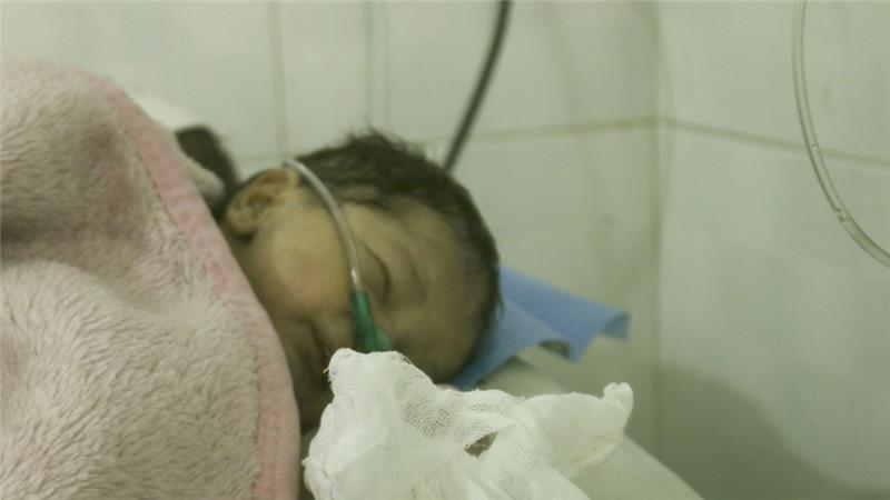 Al Zahra Hospital. Photo: Ismael Abdulrahman/Al Jazeera.