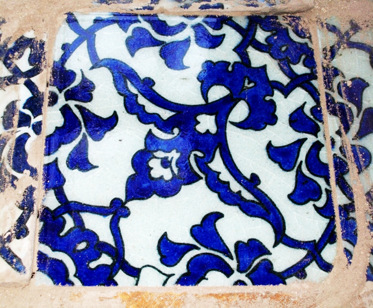Qashani ceramic tile