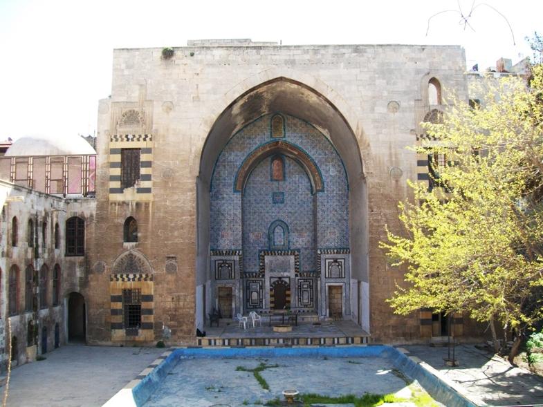 The large Iwān at Janbolad palace. Photo: Tiffany Ftaimi.