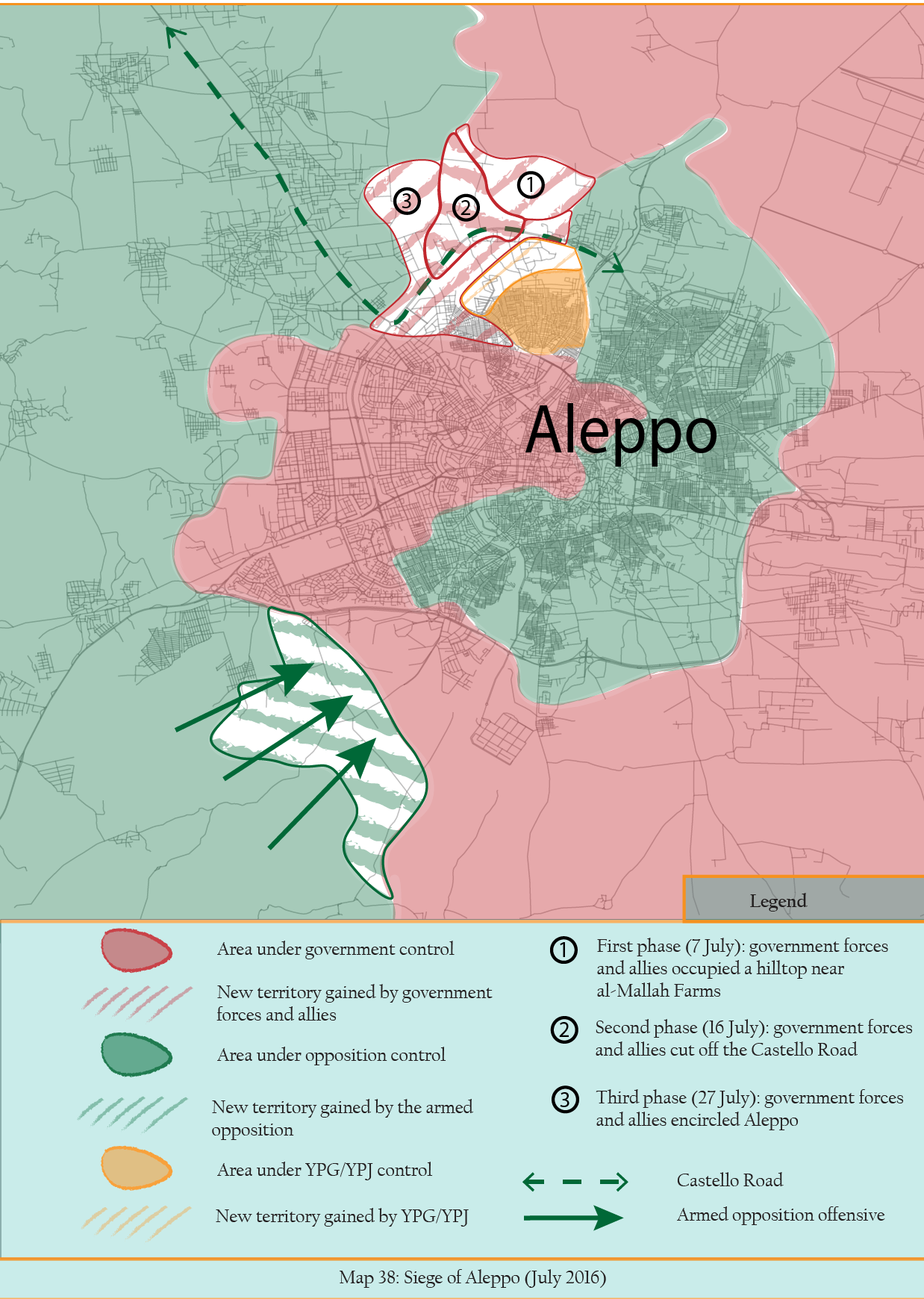 MAP 38 - Aleppo Under Siege