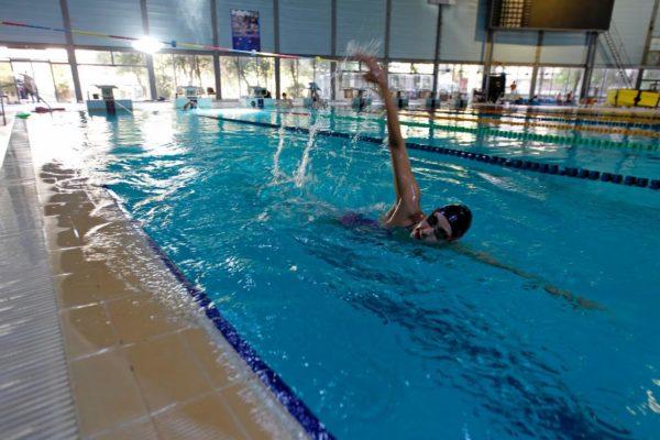 Olympic Swimmer Baean Jouma. Damascus. July 2016. Photo: Reuters/Omar Sanadiki.