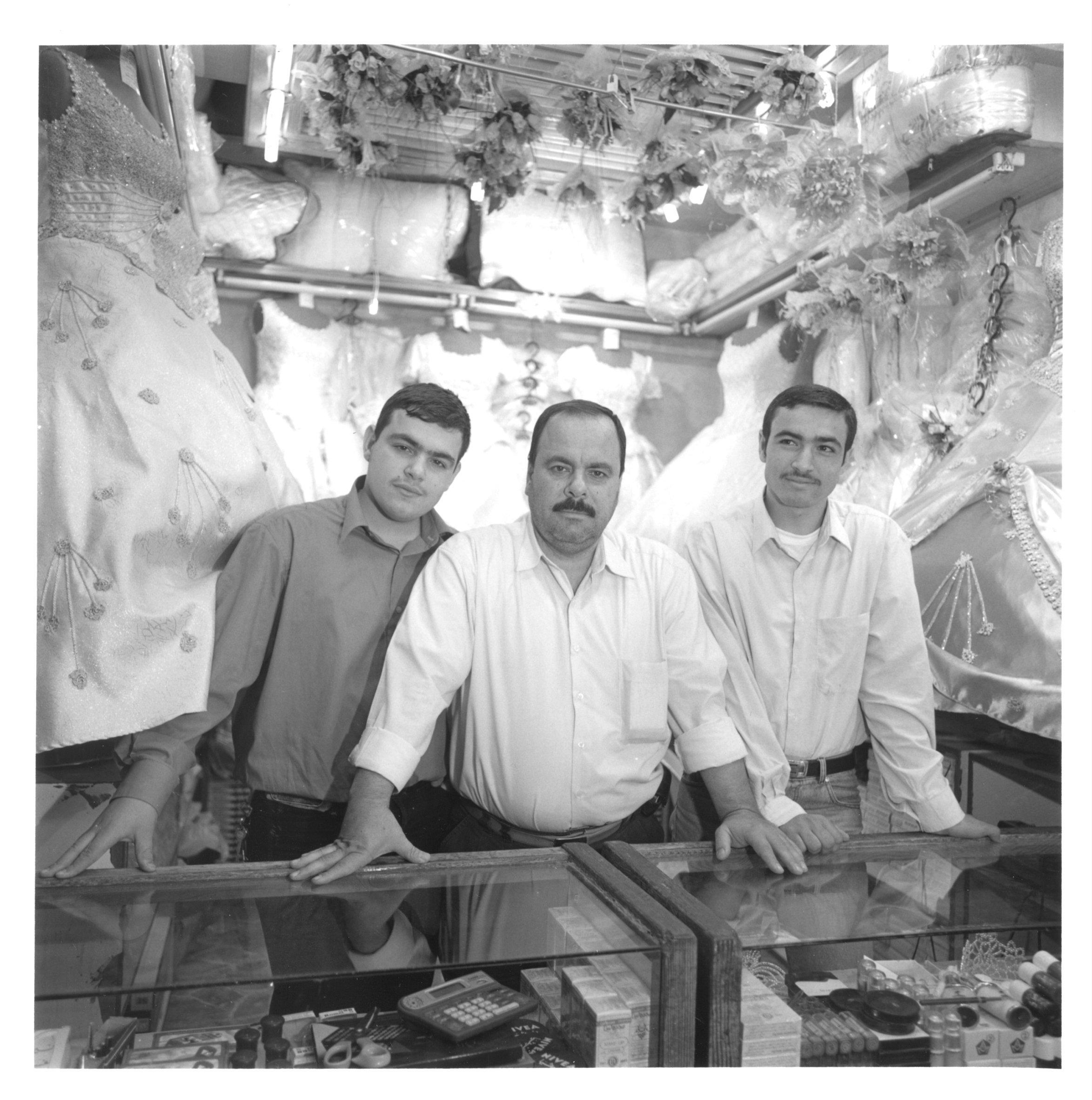 Muhammad Waraaq and sons Fadil and Abdelrahman