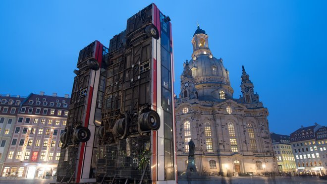 FROM ALEPPO TO DRESDEN WITH LOVE